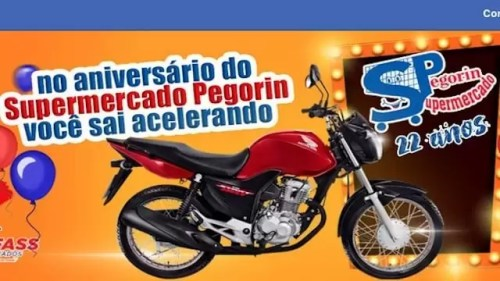 Promoção de Aniversário Supermercados Pegorin