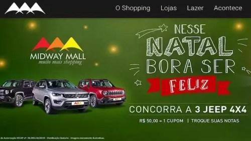 Promoção Natal 2019 Midway Mall Bora Ser Feliz
