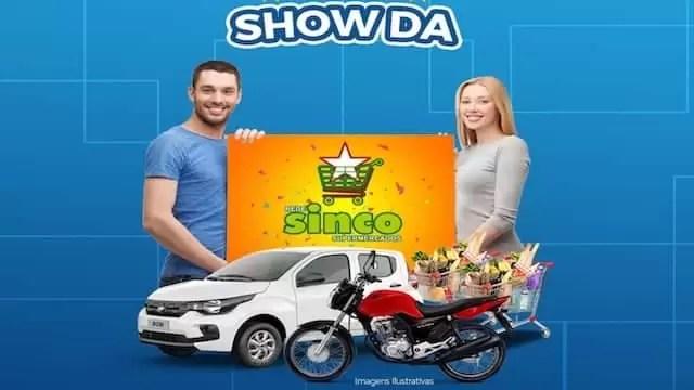 Promoção Show da Rede Sinco Supermercados