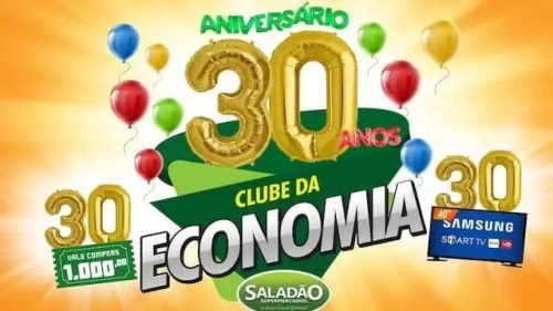 Promoção de Aniversário 30 Anos Clube da Economia