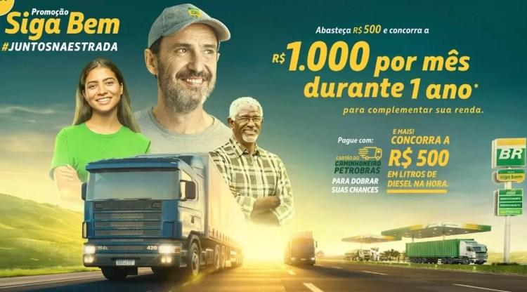 Promoção Rede Siga Bem Petrobras Juntos na Estrada