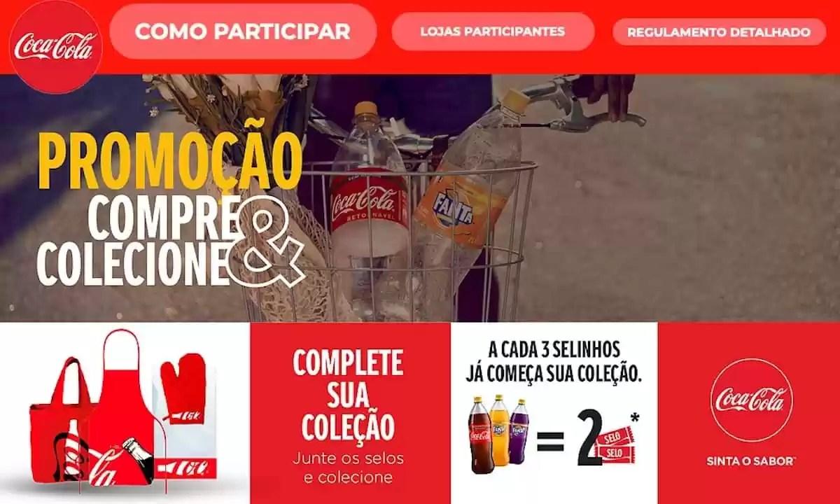 Promoção Coca Cola 2021 Compre e Colecione