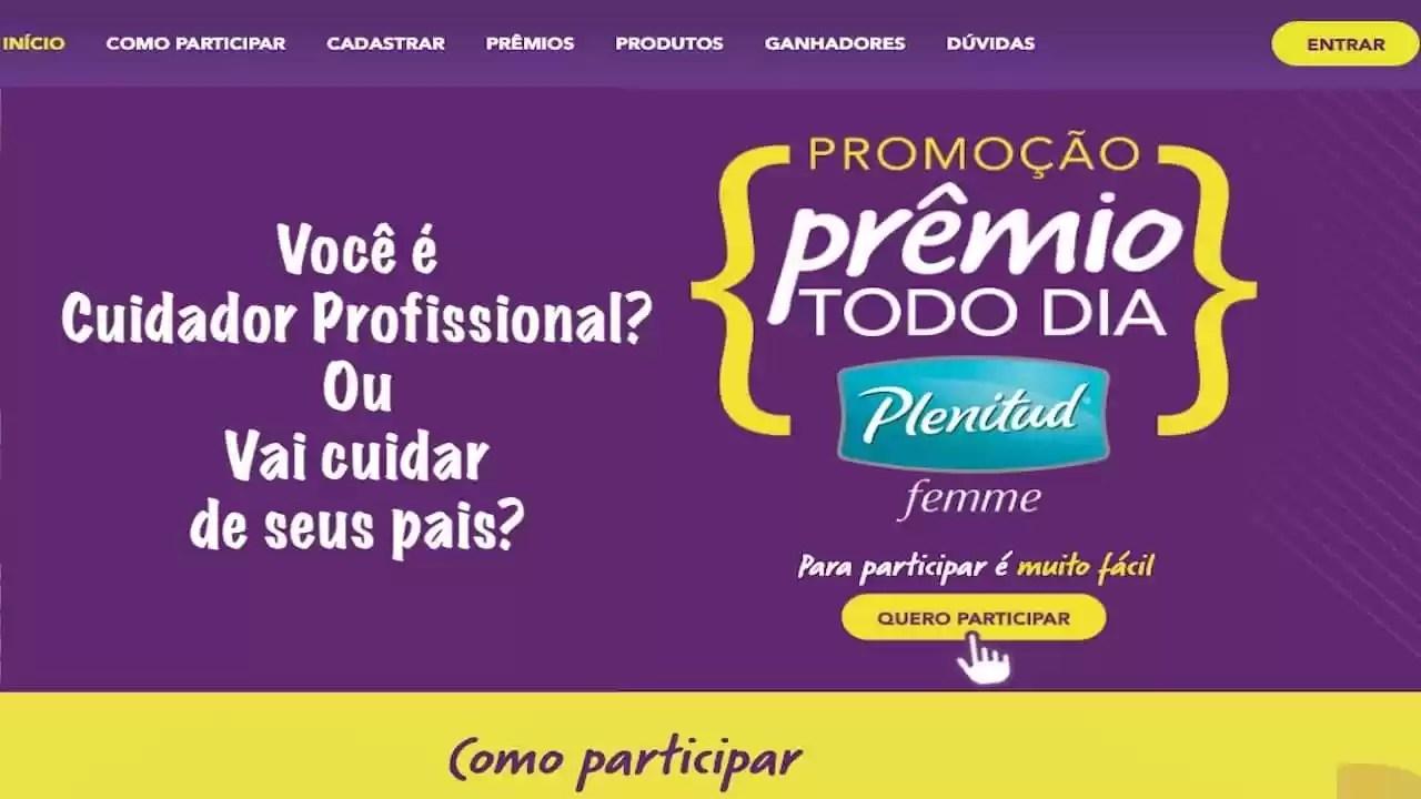 Promoção Plenitud Prêmios Todo Dia