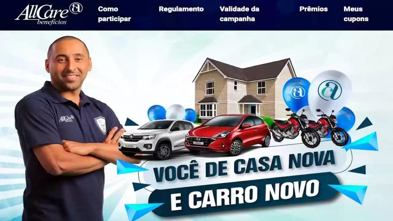 Promoção AllCare Você de Casa Nova e Carro Novo
