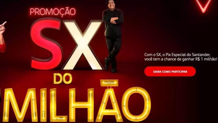 Promoção SX do Milhão do Banco Santander