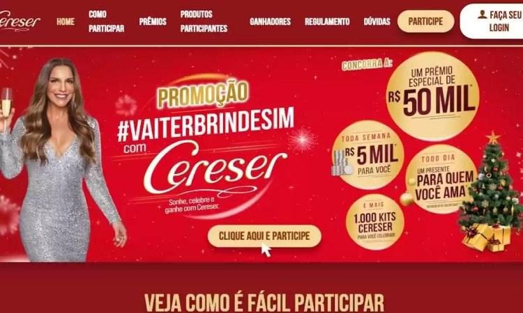 Promoção Cereser #VAITERBRINDESIM