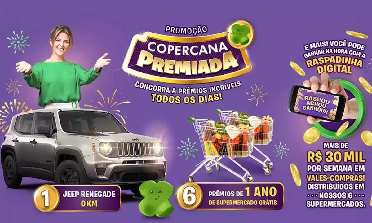 Promoção Copercana Supermercados Premiado 2020