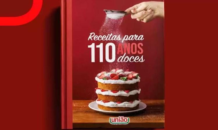 Promoção Aniversário União Receitas Para 110 Anos Doces