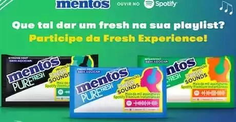 Promoção Mentos Fresh Sound 2021 - Rede da Promoção