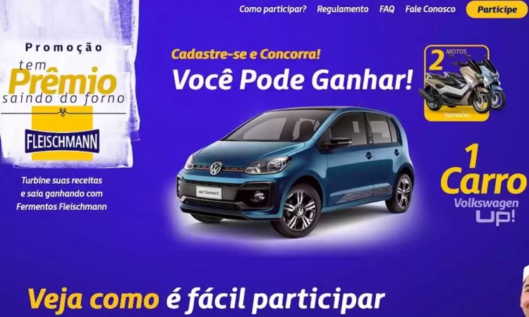 Promoção Fermento Fleischmann Têm Prêmios Saindo do Forno