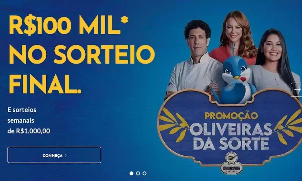 Promoção Oliveira da Sorte 2021