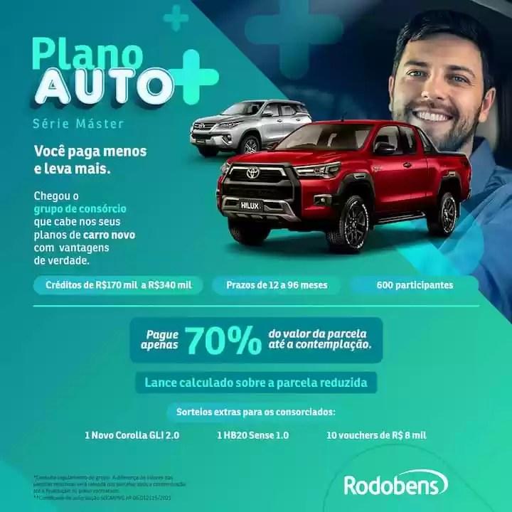 Rodobens Campanha Plano Auto - Rede da Promoção