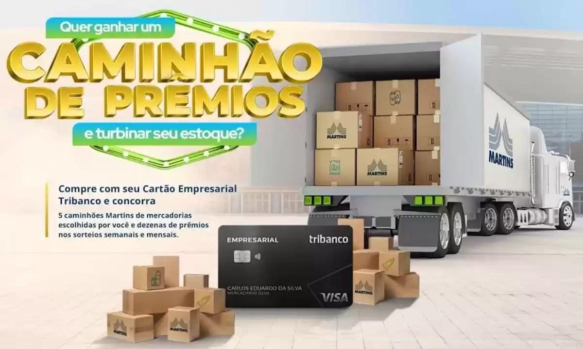 Promoção Tribanco Caminhão de Prêmios 2021