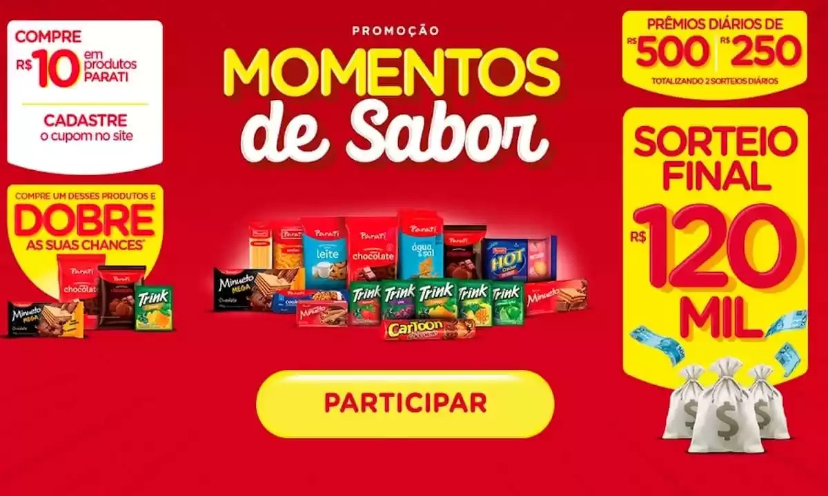 Promoção Momentos de Sabor 2021
