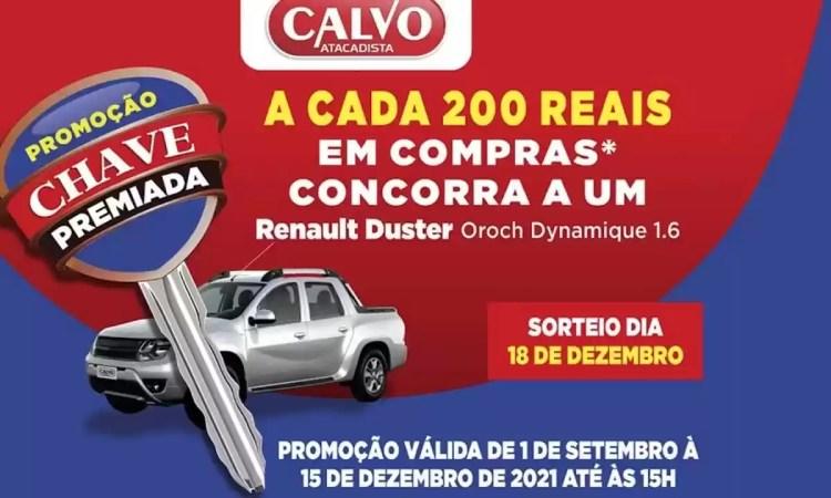 Calvo Atacadista Chave Premiada