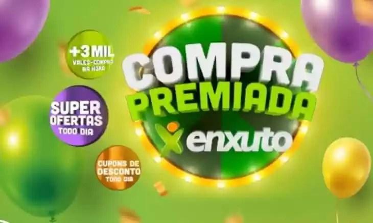 Promoção Compra Premiada Enxuto Supermercados