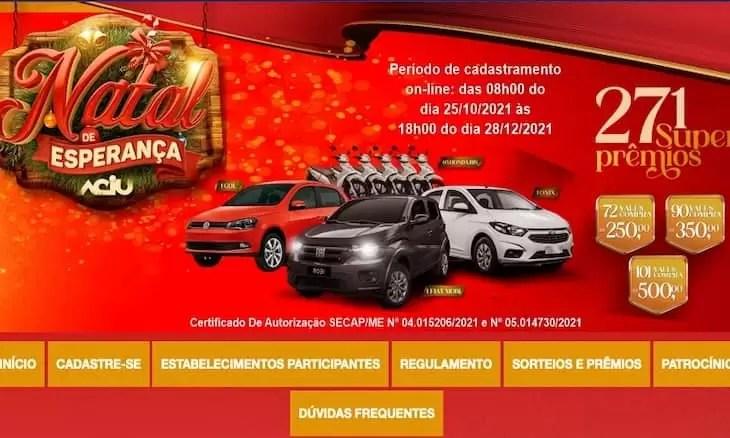 Promoção Natal de Esperança em Umuarama PR 2021