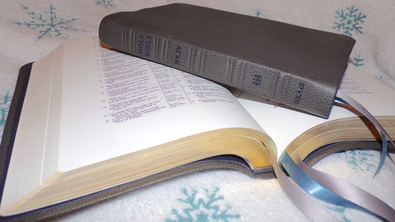 Matching Wide-Margin And Thinline Bibles