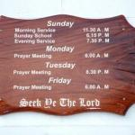 What is the Church Service?