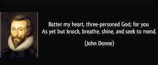 life prayer from John Donne