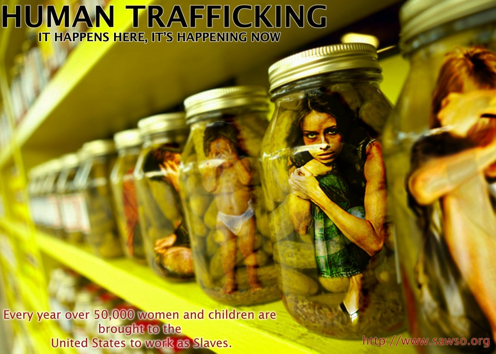 human trafficking sex slavery