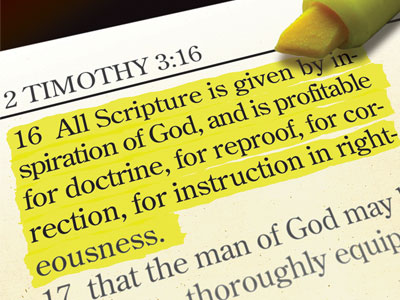 All Scripture is Inspired God Breathed