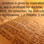 A New Take on 2 Timothy 3:16