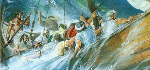 Jonah 1 - Jonah flees from God