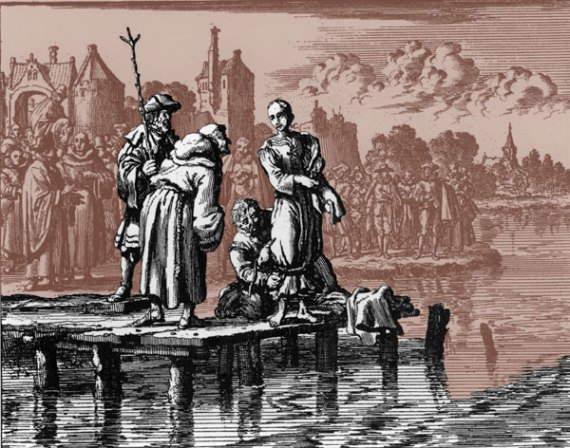 Drowning an Anabaptist