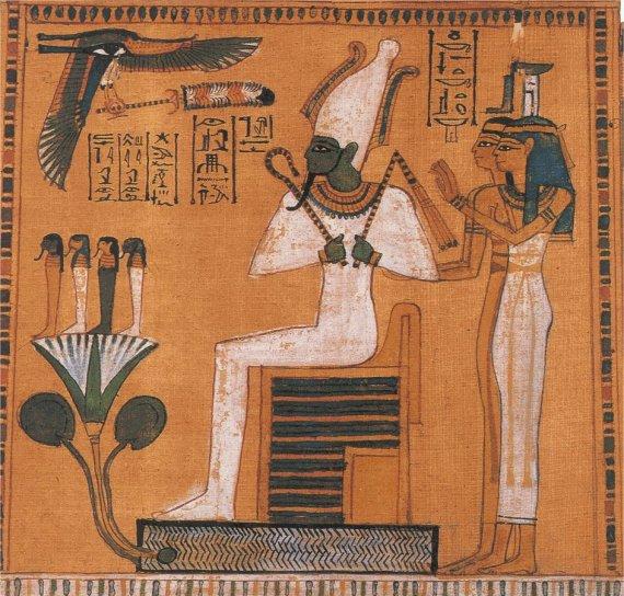 Osiris God of the Nile
