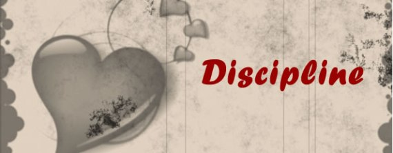 disciplined by God