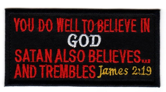 demons believe James 2:19