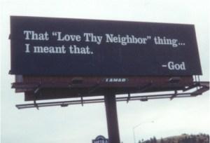 love your neighbor