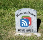 Goodbye to Google Reader