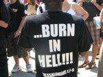 You're Disgusting! Burn in Hell!