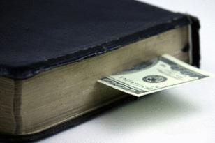 preach the gospel for money