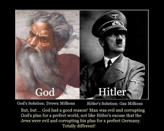 God and Hitler