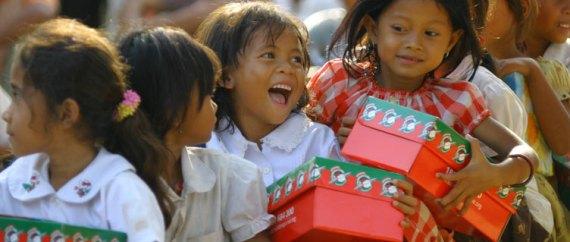 shoe boxes operation christmas child