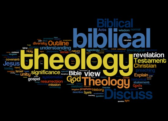 Bible and Theology questions