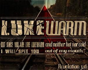 lukewarm believers Revelation 3:16