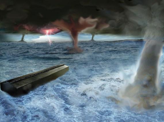 the flood in Genesis 6-8