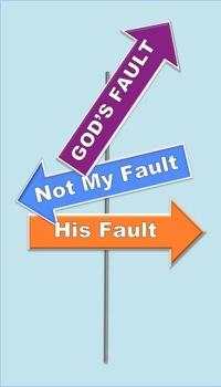 blaming god for violene