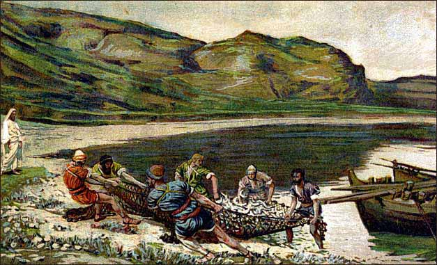 Luke 5:1-11 - Fishing with Jesus | Redeeming God