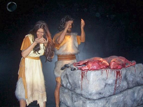 first sacrifice Genesis 3 21