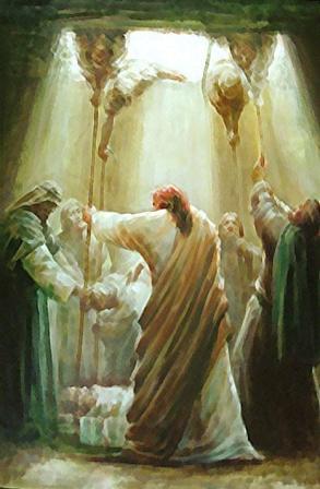 Luke 5:17-26 Jesus heals paralyzed man