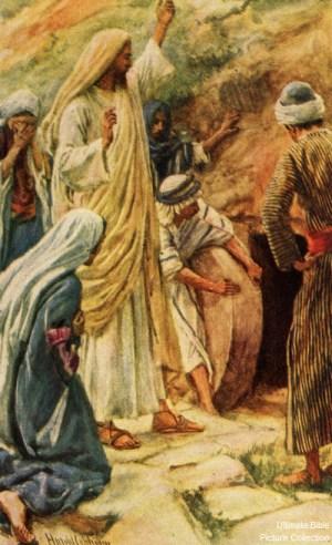 John 11 Jesus Lazarus Martha