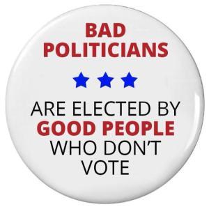 go vote and raise your voice