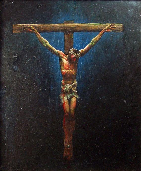Jesus cross waterboard