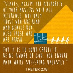 slaves 1 peter
