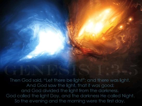 Genesis 1:3